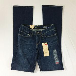 P21 Levis Demi Curve Skinny Boot Denim Jeans